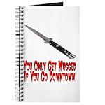 You Get Mugged Journal