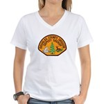 Douglas County Sheriff Women's V-Neck T-Shirt
