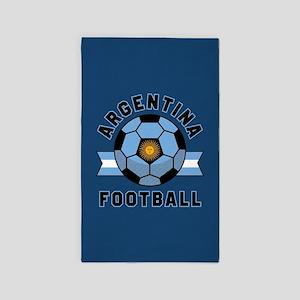 Argentina Football Area Rug