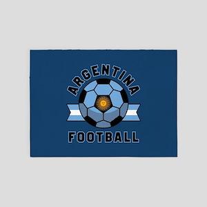 Argentina Football 5'x7'Area Rug