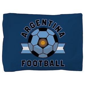 Argentina Football Pillow Sham