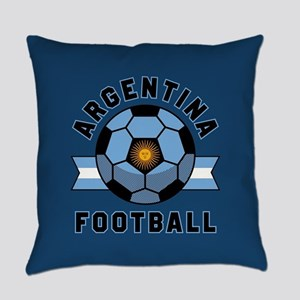 Argentina Football Everyday Pillow