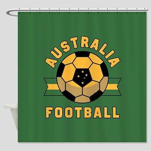 Australia Football Shower Curtain