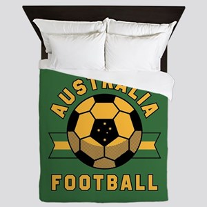Australia Football Queen Duvet
