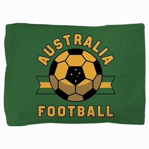Australia Football Pillow Sham