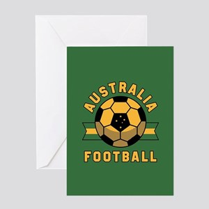 Australia Football Greeting Card