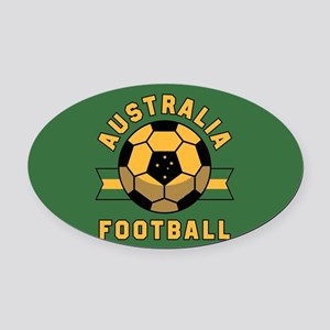 Australia Football Oval Car Magnet