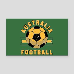 Australia Football Rectangle Car Magnet