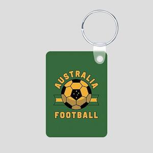 Australia Football Aluminum Photo Keychain