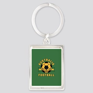 Australia Football Portrait Keychain