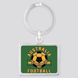 Australia Football Landscape Keychain