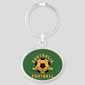Australia Football Oval Keychain