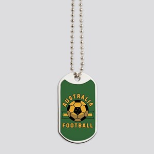 Australia Football Dog Tags
