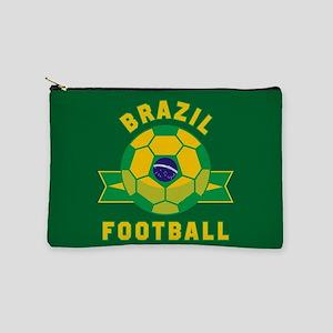Brazil Football Makeup Bag