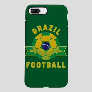 Brazil Football iPhone 8/7 Plus Tough Case