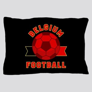 Belgium Football Pillow Case