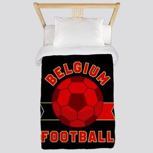 Belgium Football Twin Duvet Cover
