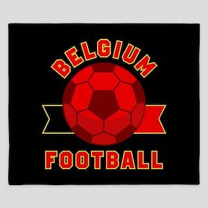 Belgium Football King Duvet
