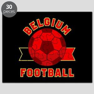 Belgium Football Puzzle