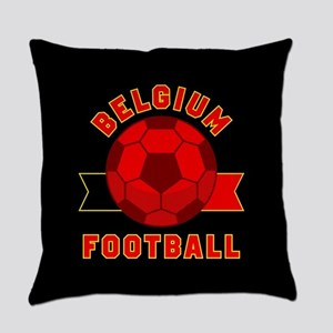 Belgium Football Everyday Pillow