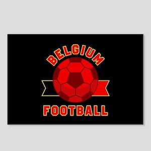 Belgium Football Postcards (Package of 8)