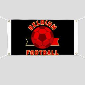 Belgium Football Banner