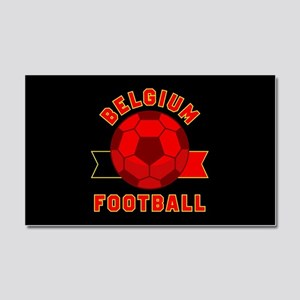 Belgium Football Car Magnet 20 x 12