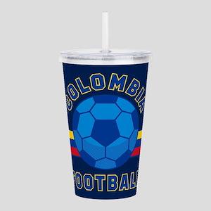 Colombia Football Acrylic Double-wall Tumbler