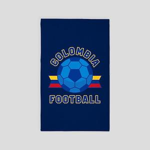Colombia Football Area Rug