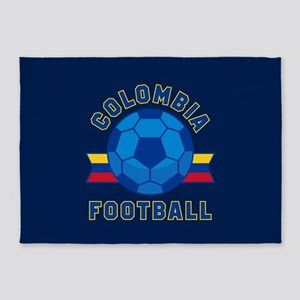 Colombia Football 5'x7'Area Rug