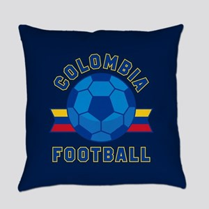 Colombia Football Everyday Pillow