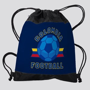 Colombia Football Drawstring Bag