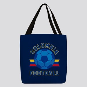 Colombia Football Polyester Tote Bag