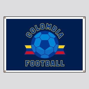 Colombia Football Banner