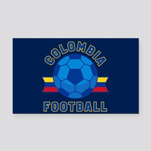 Colombia Football Rectangle Car Magnet