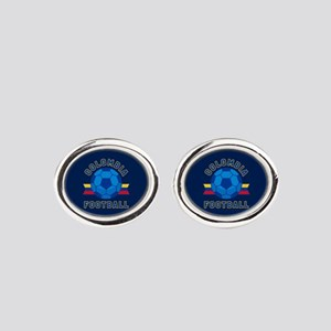 Colombia Football Oval Cufflinks