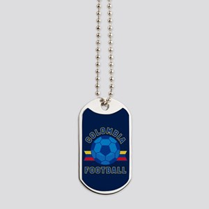 Colombia Football Dog Tags