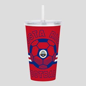 Costa Rica Football Acrylic Double-wall Tumbler