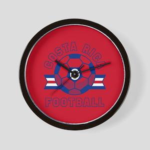 Costa Rica Football Wall Clock