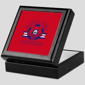 Costa Rica Football Keepsake Box