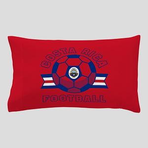 Costa Rica Football Pillow Case