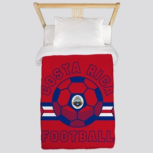 Costa Rica Football Twin Duvet Cover