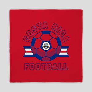 Costa Rica Football Queen Duvet