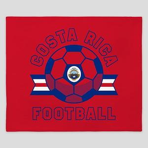 Costa Rica Football King Duvet