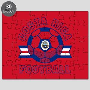 Costa Rica Football Puzzle