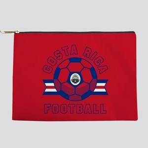 Costa Rica Football Makeup Bag