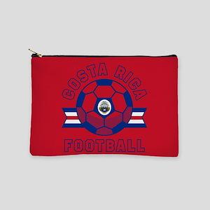 Costa Rica Football Makeup Bag