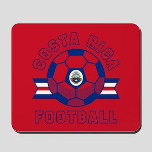 Costa Rica Football Mousepad