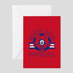 Costa Rica Football Greeting Card