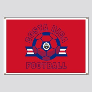 Costa Rica Football Banner